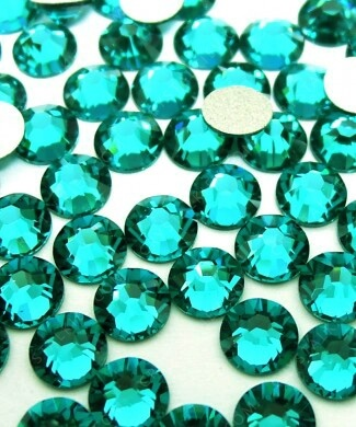 Crystalline Blue Zircon